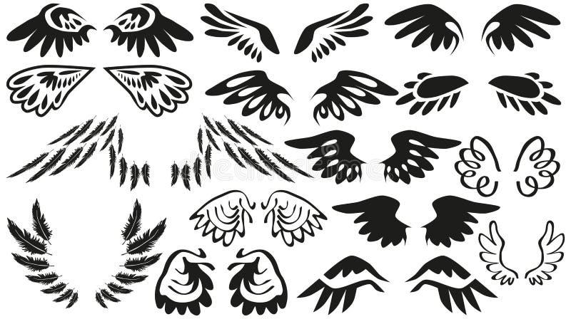 Ikon skrzydła ilustracji