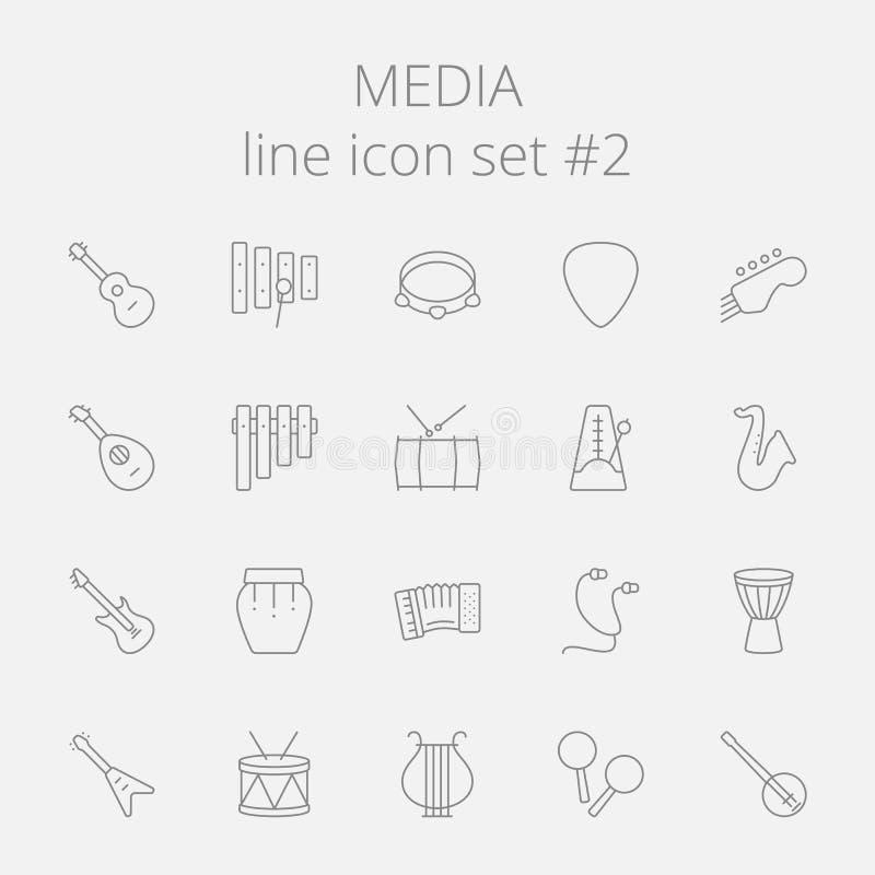 ikona środki odłogowania ilustracja wektor