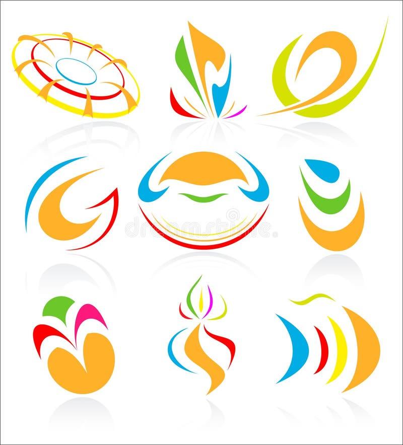 ikona abstrakcjonistyczny wektor ilustracja wektor