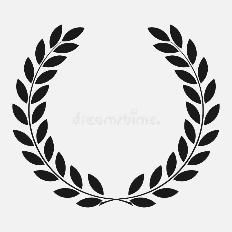 Ikona bobka wianek royalty ilustracja