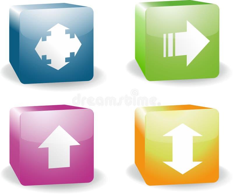 ikona 3 d zdjęcia royalty free