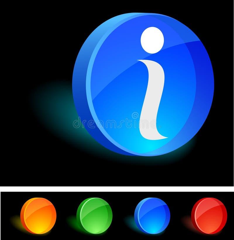 ikona info royalty ilustracja