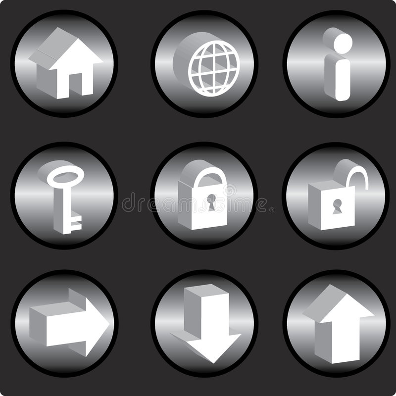ikona internetu ilustracja wektor