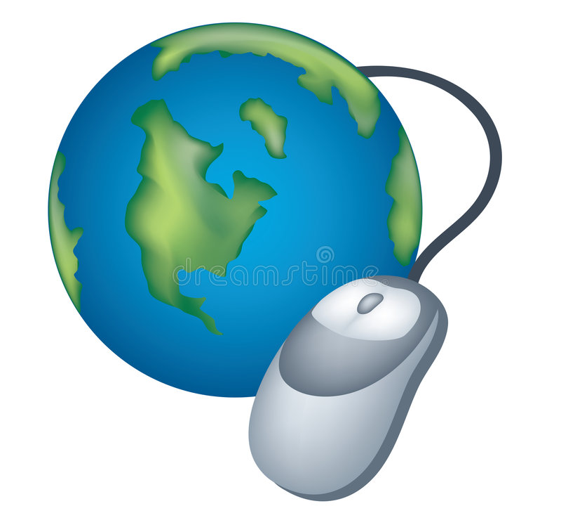 ikona internety ilustracja wektor