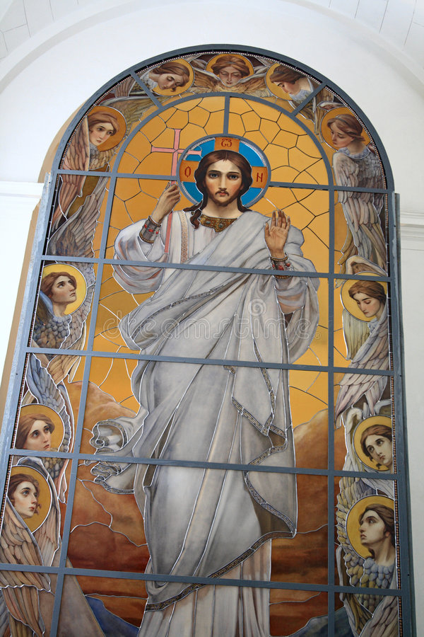 ikona Jezusa fotografia royalty free
