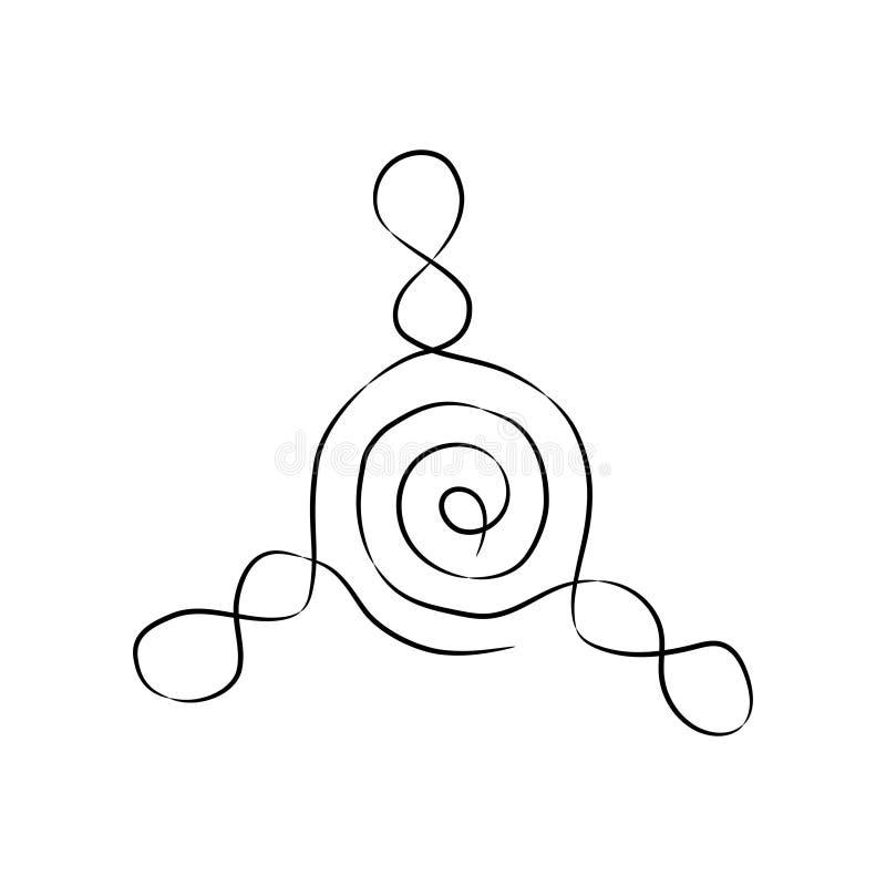 Ikona kądziołek royalty ilustracja