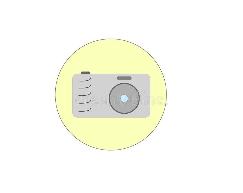 Ikona kamery zastosowanie fotografia royalty free