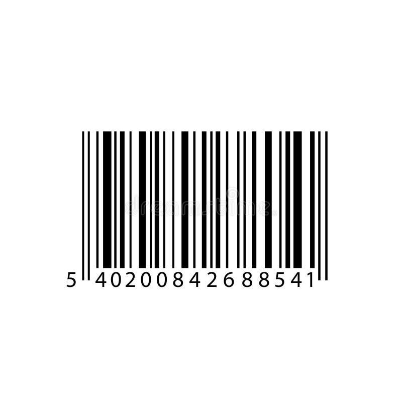 Ikona kodu kreskowego Wektor kodu kreskowego EPS 10 - wektor giełdowy ilustracja wektor