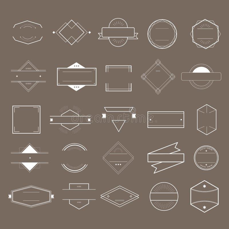 Ikona loga ustalony wektorowy inkasowy pojęcie ilustracja wektor