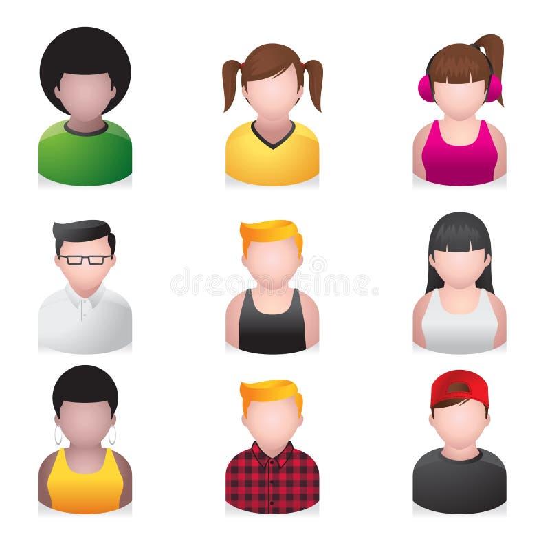 ikona młodzienów ludzie