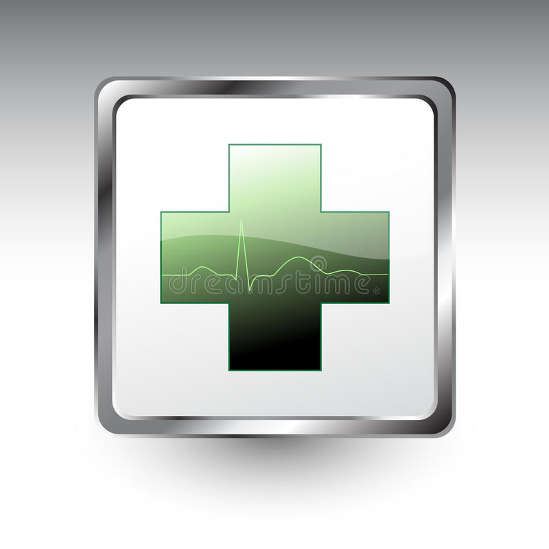 ikona medyczna ilustracja wektor