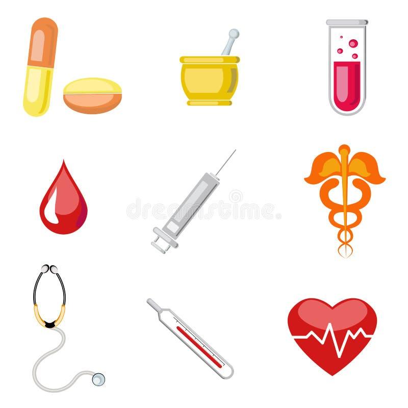 ikona medyczna royalty ilustracja
