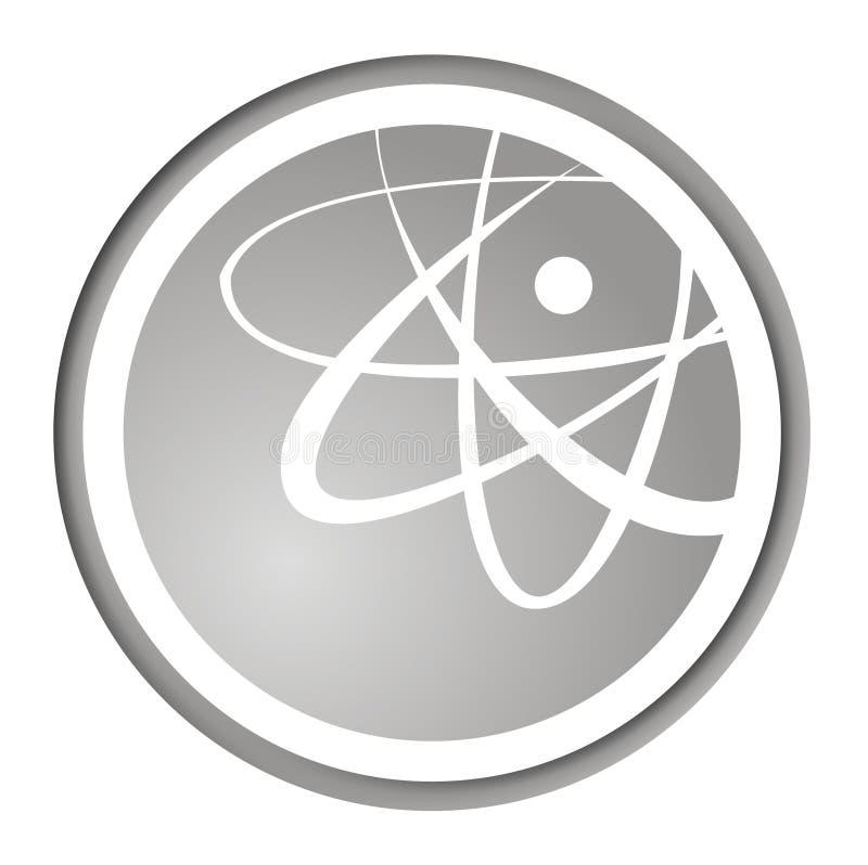 ikona mody atomowa royalty ilustracja