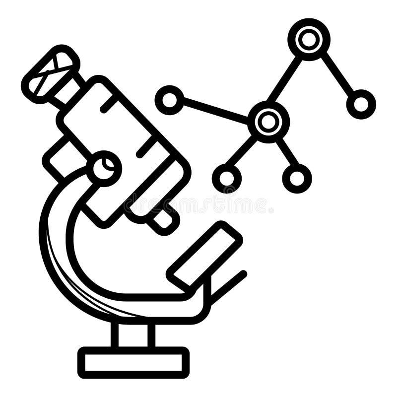 ikona naukowa ilustracja wektor