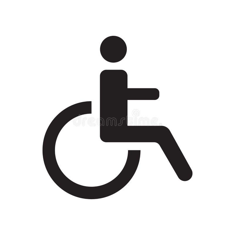 ikona niepełnosprawna  ilustracji