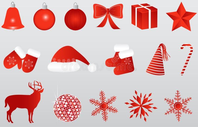 ikona nowy rok ilustracji