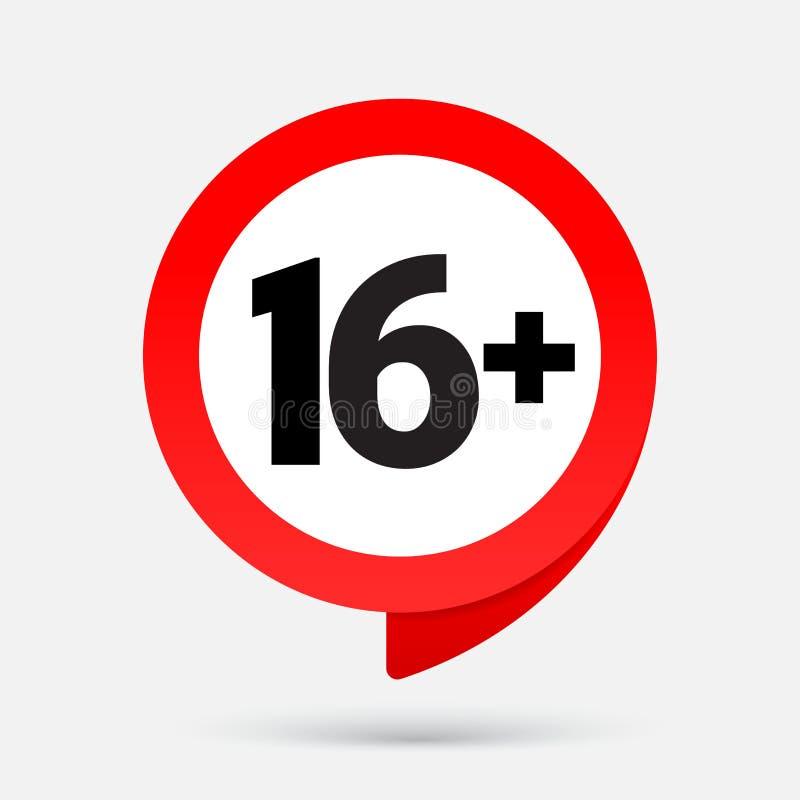 16 ikona odizolowywająca na szarym tle ilustracji
