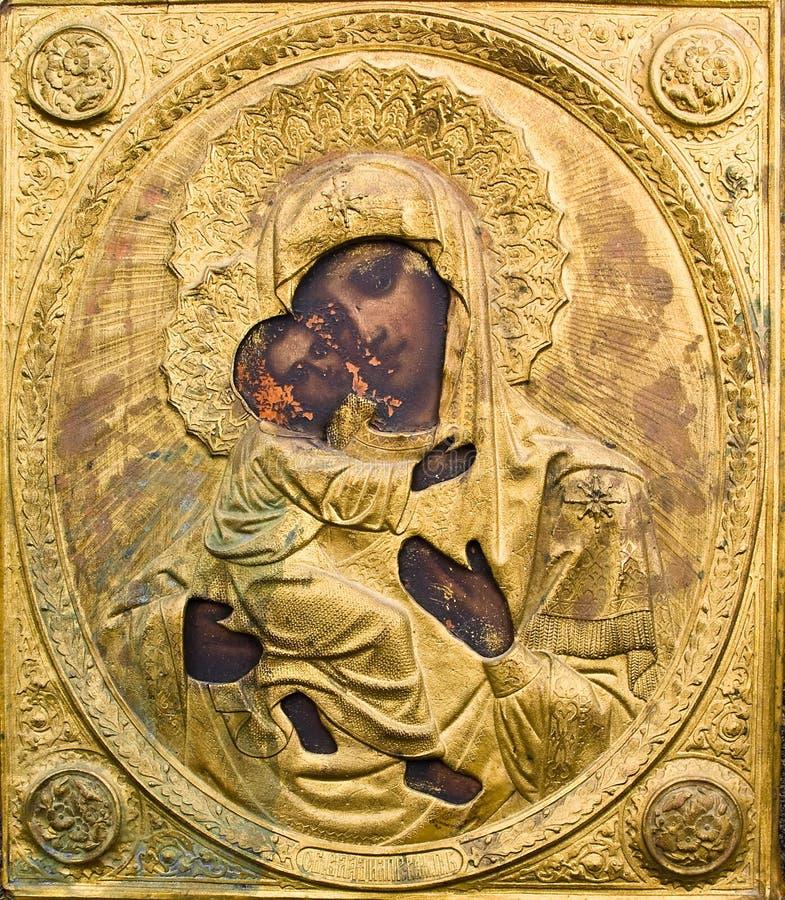 ikona ortodoksyjny rosjanin obrazy royalty free