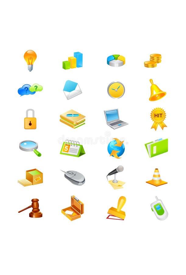 ikona set ilustracji