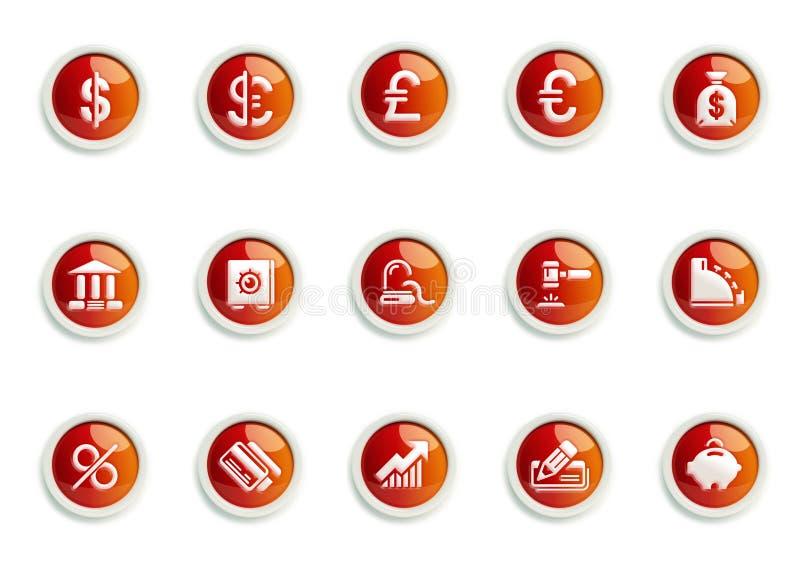 ikona set obraz royalty free