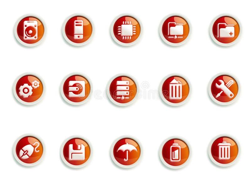 ikona set zdjęcie royalty free
