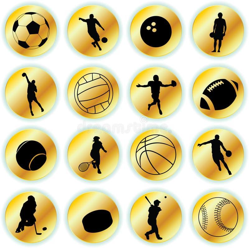 ikona sport ilustracji