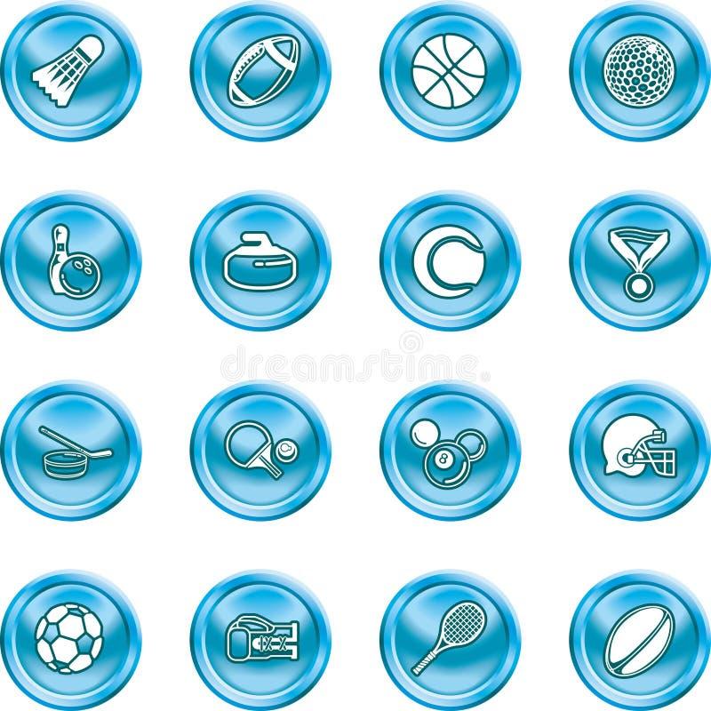 ikona sportu royalty ilustracja