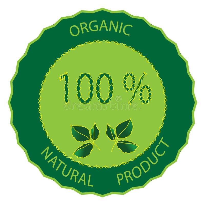 Ikona symbol ekologicznie życzliwy hypoallergenic produkt ilustracja wektor