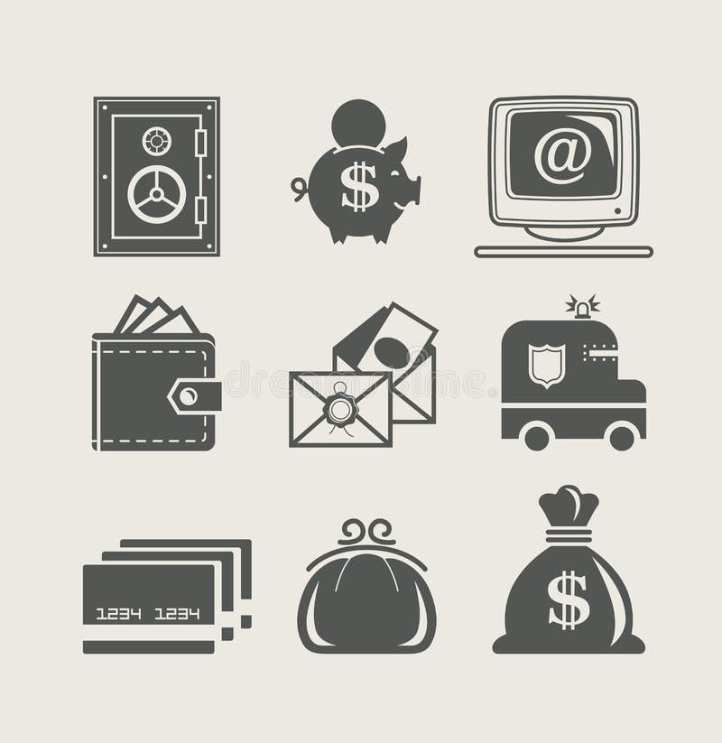 ikona TARGET1649_1_ finansowy set ilustracji