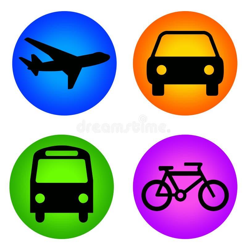 ikona transport ilustracja wektor
