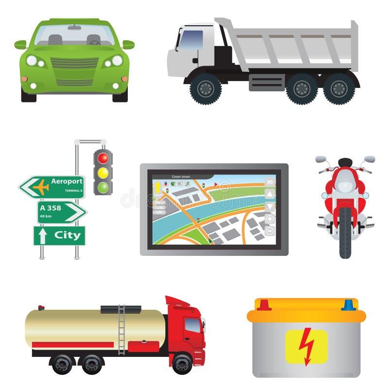Ikona Transport Fotografia Stock