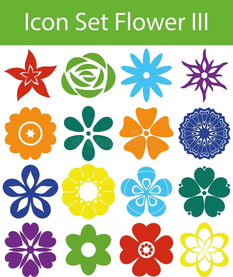 Ikona Ustalony kwiat III ilustracji