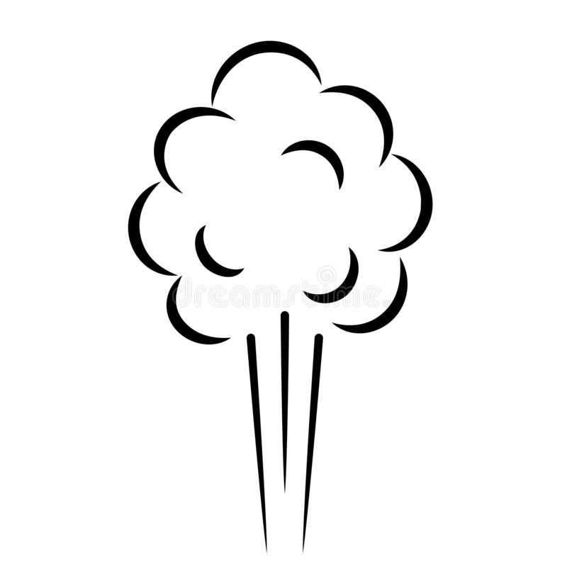 Ikona wektora ciÅ›nienia powietrza ilustracji