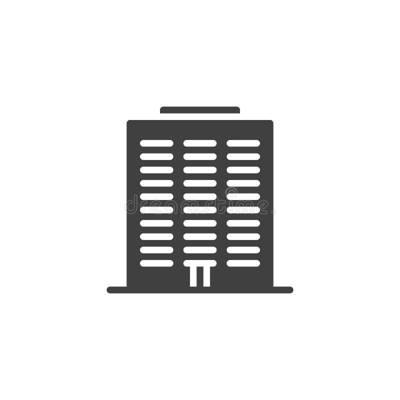Ikona wektora Condo ilustracji