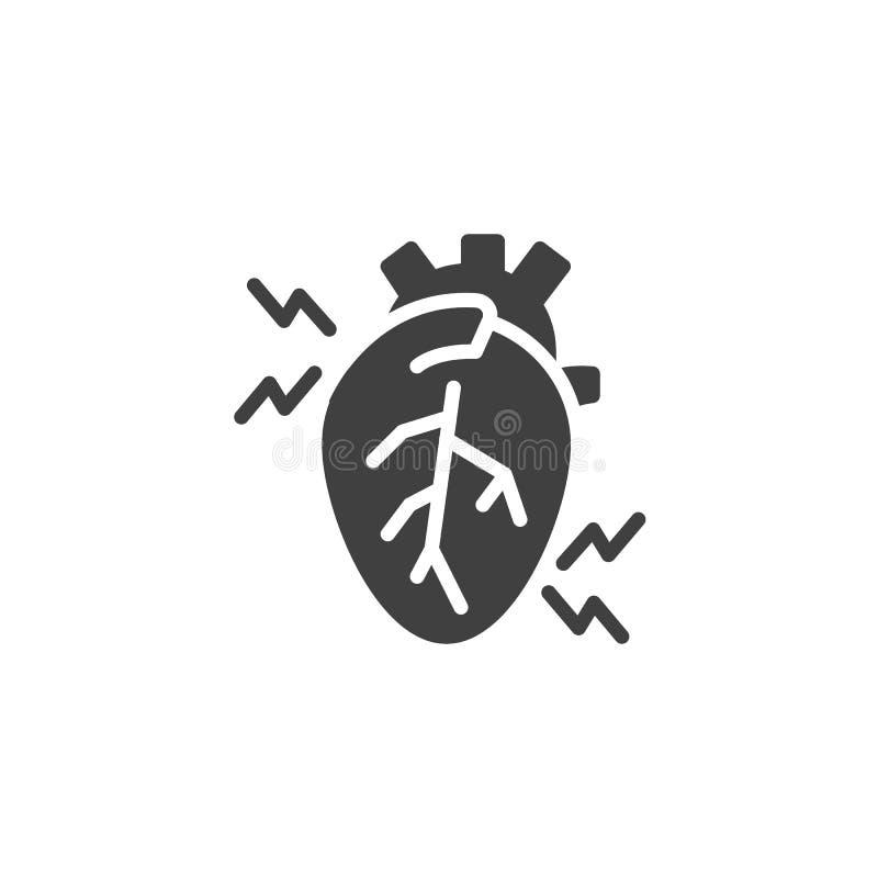 Ikona wektora funkcji Heartache ilustracji