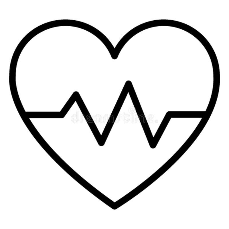 Ikona wektora izolowanego Lifeline, którą można łatwo modyfikować lub edytować ilustracji
