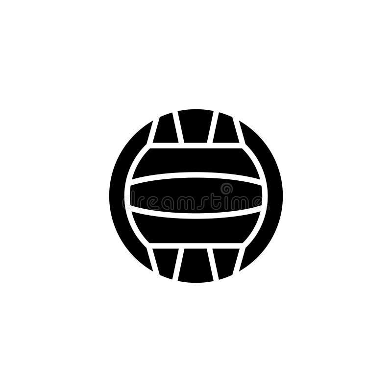 ikona Wodnego polo symbolu znak royalty ilustracja