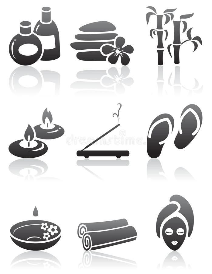 ikona zdrój ilustracja wektor