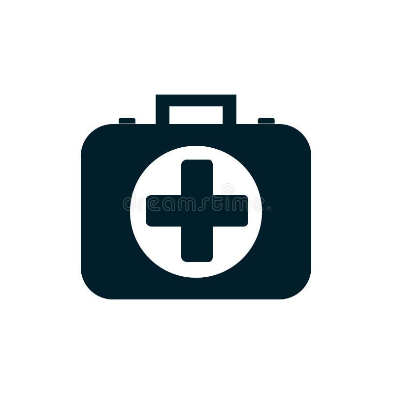 Ikone der Erste-Hilfe-Ausrüstung vektor abbildung