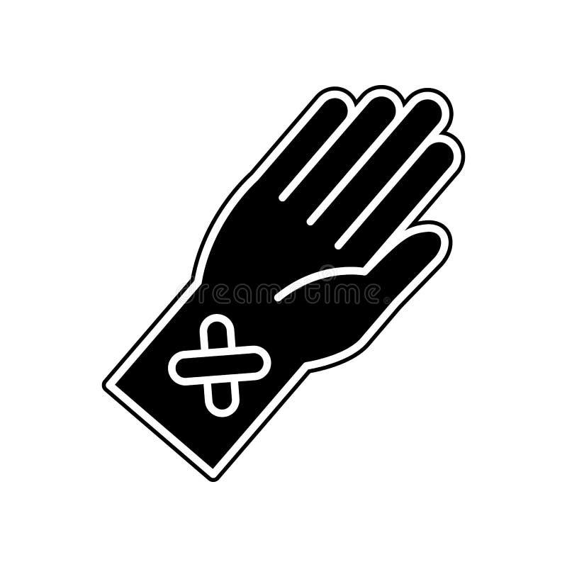 Ikone des Blutabgehobenen betrages Element der Blutspende für bewegliches Konzept und Netz Appsikone Glyph, flache Ikone für Webs lizenzfreie abbildung