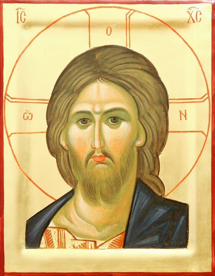 Ikone des Lords Jesus Christus lizenzfreie stockfotografie