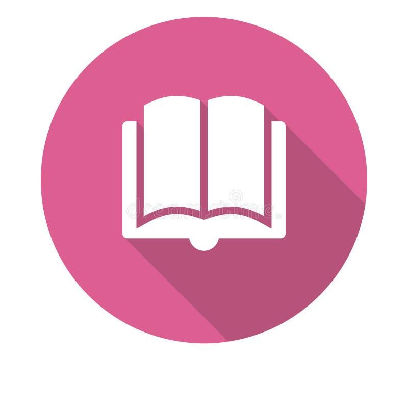 Ikone des offenen Buches vektor abbildung