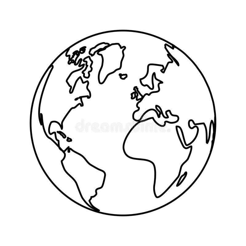 Ikone des technischen Services des Weltnetzes vektor abbildung
