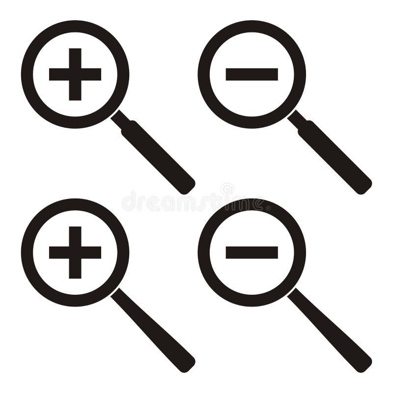Ikonen des lauten Summens vektor abbildung