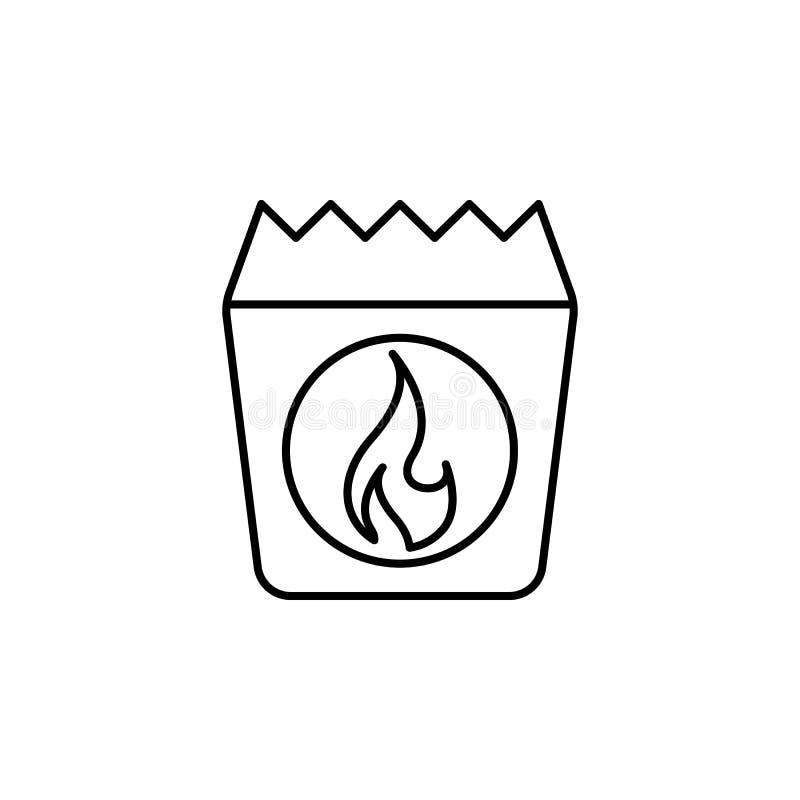 Ikonen Kol kontur Ikonen för sommarläger Grafisk design av förstklassig kvalitet Signaler och symbolsamlingsikon för webbplatser, stock illustrationer