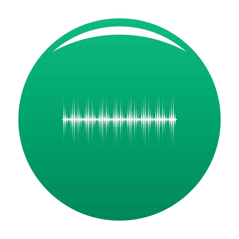 Ikonen-Vektorgrün des Entzerrers digitales lizenzfreie abbildung