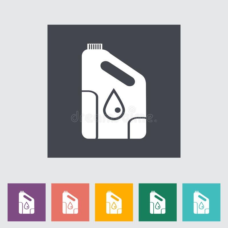 Ikonendosen Motoröl. lizenzfreie abbildung