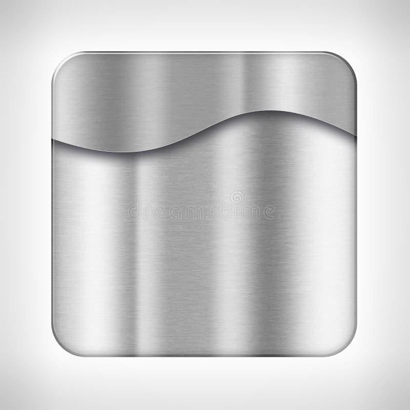 Ikonenschablone für Anwendungen lizenzfreie abbildung