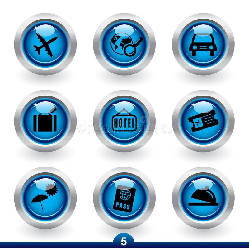 Ikonenserie 5 - Reise stock abbildung