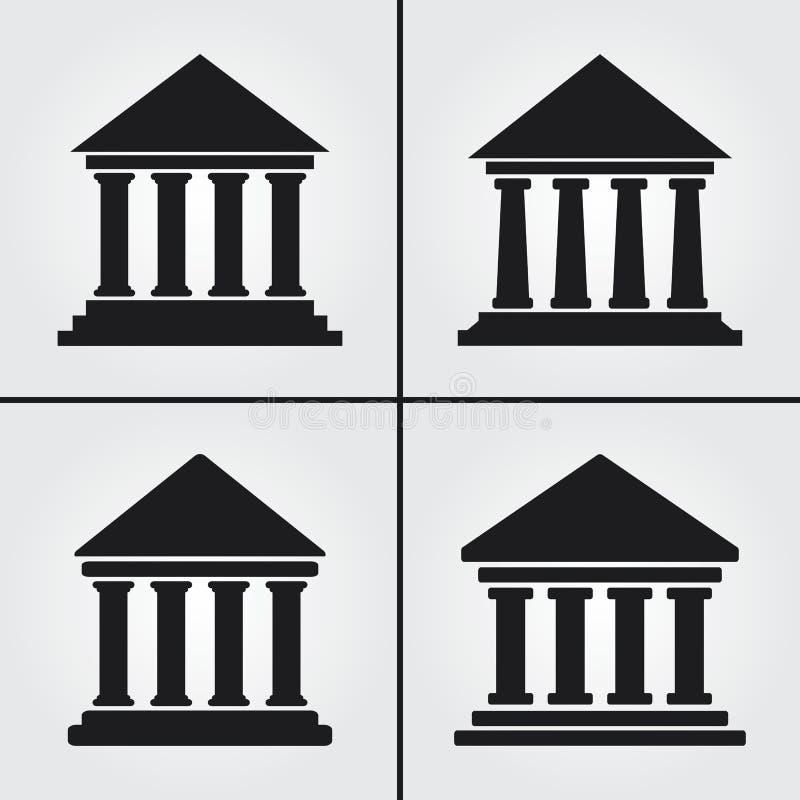 Ikoner från Bank University Museum Government royaltyfria foton